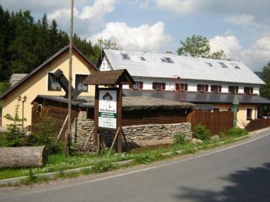Chata penzion Rampušák