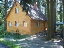 Chata u Mydlovarského rybníka